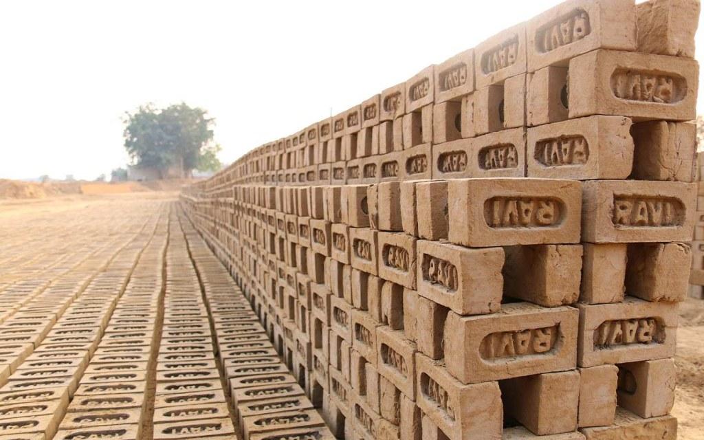 bricks produced using zigzag technology