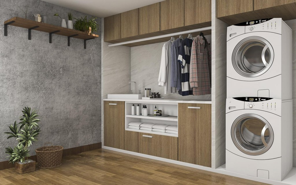 Your laundry room should offer ease of convenience