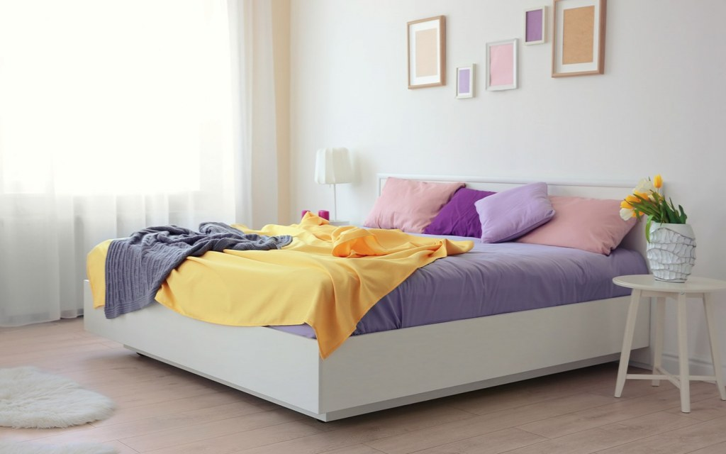 Avoid bedding materials that can be hypoallergenic for you