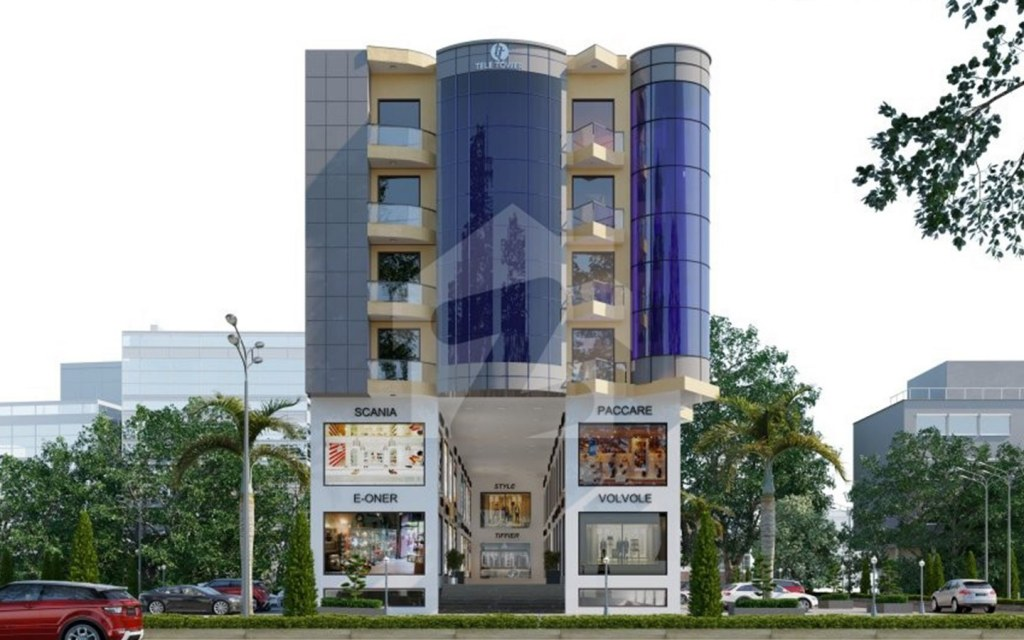 Enjoy contemporary designs at Tele Tower Lahore