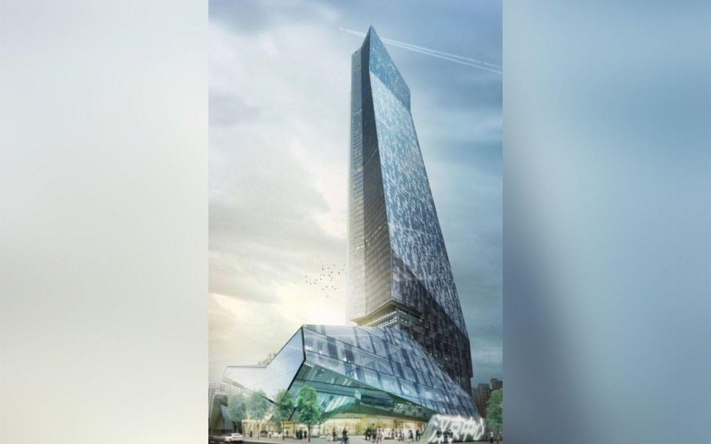 Hanking Center Tower—World's First-ever Detached-core Supertall Skyscraper