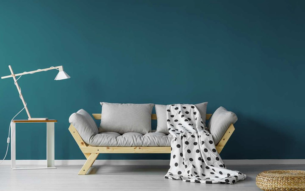 matching furniture colour with interior walls