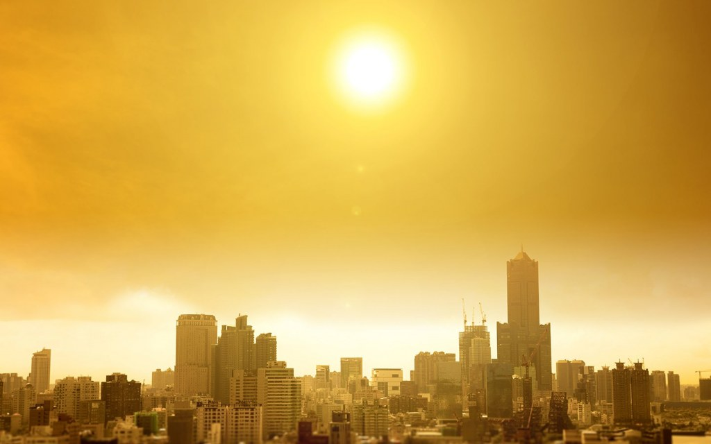 Globally temperatures are increasing exponentially