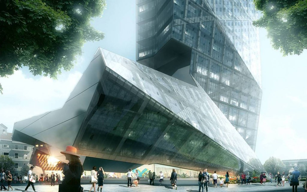 Mega-scale Vertical Project in China