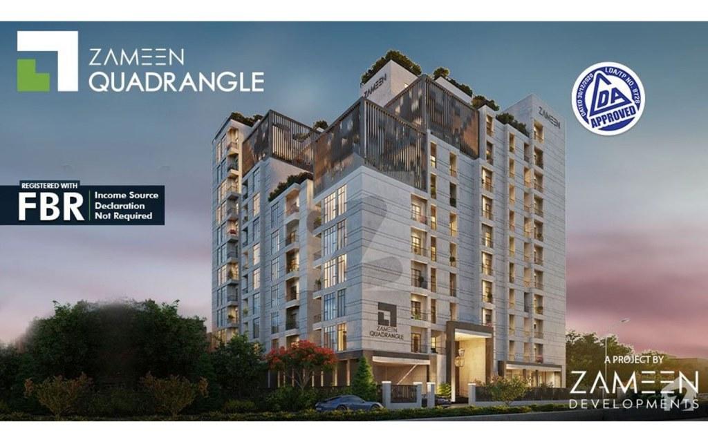 community centric design of Zameen Quadrangle
