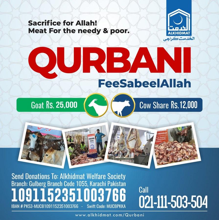 Al Khidmat Foundation Qurbani Service
