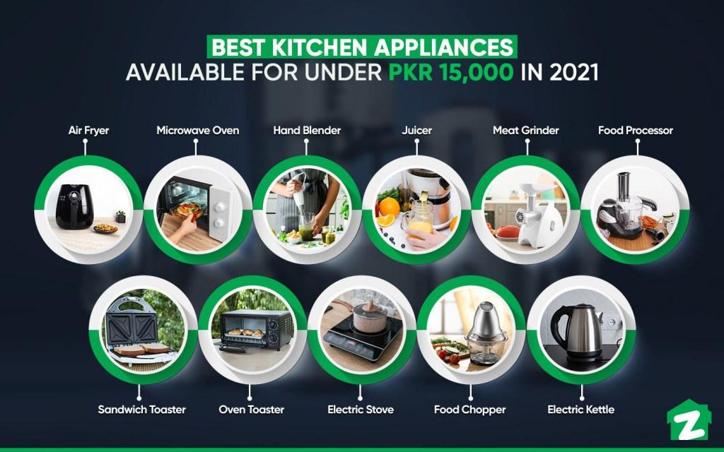Best Kitchen Appliances Under PKR 15,000