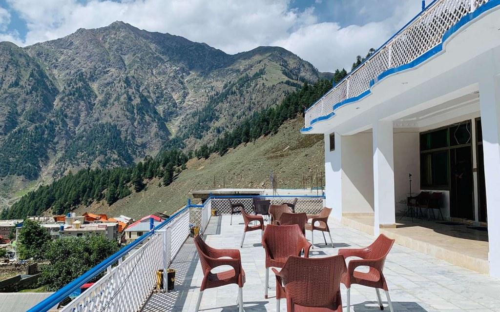 Sunrise Lodges offer bird's eye view of Naran