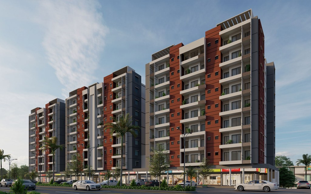 types of apartments in lakhani galaxy