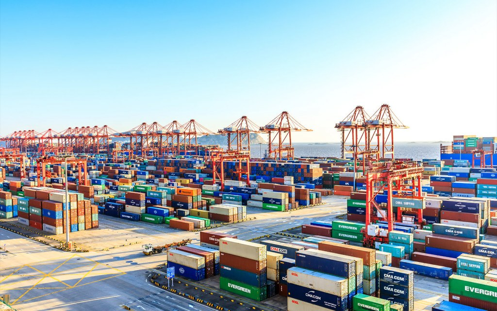 An economy expands under international trade