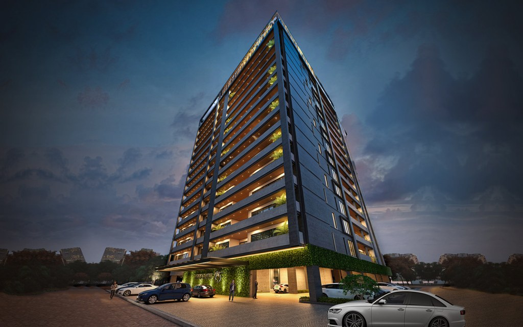 Residence 15 offers luxurious living options