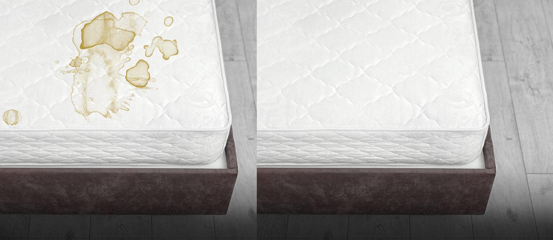 cleaning a mattress