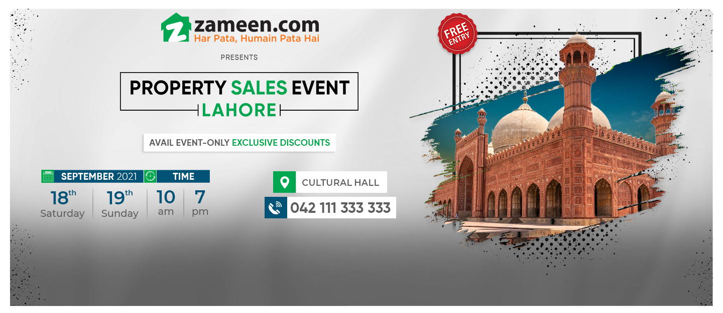 Zameen Property Sales Event in Lahore