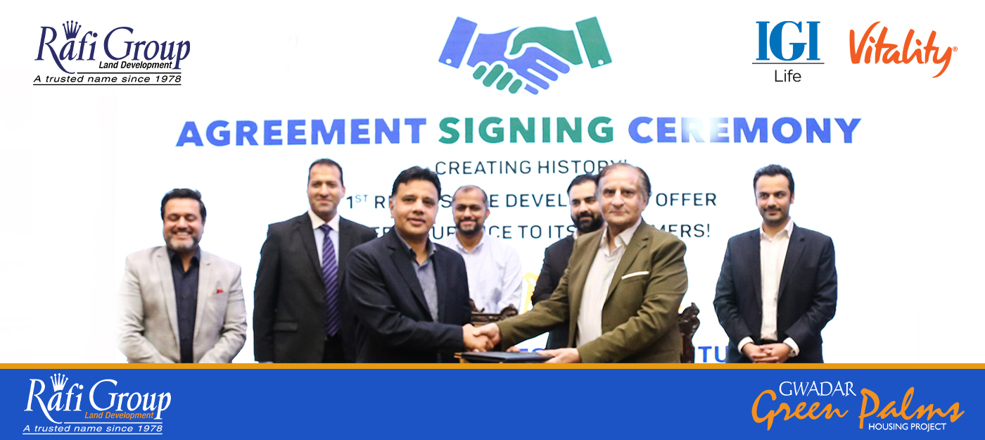 rafi group signed an MoU