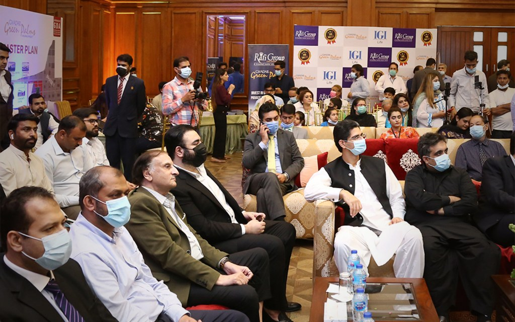 attendees at the mou signing ceremony